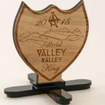 Trophäen für die Ästhetiker Valley Ralley