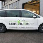 Neue Firma - neue Autobeschriftung für Elektro Kerschdorfer, Zillertal Tirol