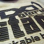Gelaserte Trophäen und Sportpreise aus Holz