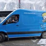 Vollverklebung Mercedes Sprinter TVB Mayrhofen für Marc Pircher - He Likes!
