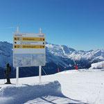 Skigebietsleitsystem am Rastkogel - Ski- & Gletschwelt Zillertal3000