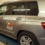 Eventwerbung: Fahrzeugbeklebung Rise & Fall, Mayrhofen
