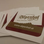 Aufkleber Hotel Alpenhof 4*s, Hintertux