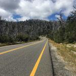 Grenze zwischen Chile und Argentinien