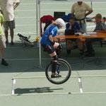 WM 2012 in Brixen: Lea Schulte beim Weitsprung (205 cm, 5 Platz in der Gesamtwertung)