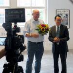 Thomas Billhardt, Viet Coung Nguyen (Vietnamesischer Botschaftsrat)