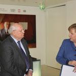 Mikhail Gorbachev, Chancellor Dr. Angela Merkel