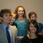 Anthony und Alina Kennedy Shriver mit ihren Kindern