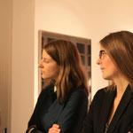 Alina Heinze (Museumsleitung), Janika Bratvogel (DAG)