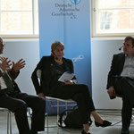 Panel discussion with Dr. Birgitta Ringbeck, Dr. Michael Müller-Karpe, Rodolf Gundlach, Prof. Dr. Mamoun Fansa · Hosted by Harald Asel (Inforadio)