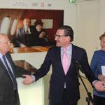 Michail Gorbatschow, Kai Diekmann (Chefredakteur BILD Zeitung), Bundeskanzlerin Dr. Angela Merkel