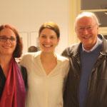 Sheryl Oring, Alina Heinze (Museumsleitung), Thomas Billhardt