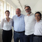 Alina Heinze (Museumsleitung), Thomas Billhardt, Jan Burghardt (CAMERA WORK), Duc Thang Nguyen