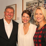 Fotograf Daniel Biskup, Museumsleiterin Alina Heinze, Familienministerin Manuela Schwesig