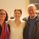 Sheryl Oring, Alina Heinze (Director of the Museum THE KENNEDYS), Thomas Billhardt