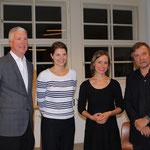 Autor James W. Graham, Alina Heinze (Museumsleitung), Stefanie Haack (mare Verlag), Autor Holger Teschke