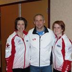 Frauen-Curling Team Kanada (4 Platz in Korea-hörende)