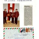 v.l.n.r.: Erich Macho, Horst Winklehner, Herbert Kastner, Walter Fischer