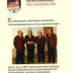 v.l.n.r. Erich Macho, Horst Winklehner, Herbert Kastner, Walter Fischer