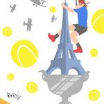 Dessin publié dans L'Equipe du 25.05.2014