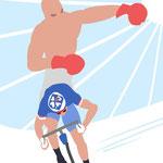 """Dessin de presse sélectionné sur le site du journal L'equipe / Concours """"Mon dessin dans l' Equipe"""""""