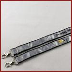 collarino porta badge a doppio aggancio personalizzato