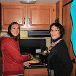 Kochen im Stehen hat auch was für sich ;-)