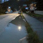 Dawson City bei Nacht