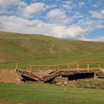 Nach alternativen Wegen suchen ist normal in der Mongolei