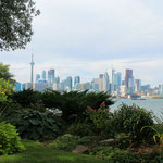 Skyline von Toronto auf Toronto Island