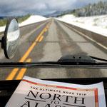 Der Highway ist nur partiell geräumt