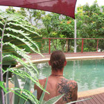 Pool im Regenwald noch mehr ;-)