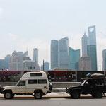 Endlich.. Das lang ersehnte Startfoto in Shanghai...