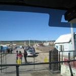 Kym Boltons heimlich geschossene Fotos der Mongolisch Russischen Grenze