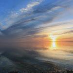 Sonnen untergang am Lake Winigossi