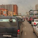 der Verkehr in UB ist Haarsträubend