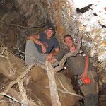Tobi und Icke in ner Höhle.. bisschen gruselig ;-)