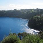 Blue Lake.. bis heute ist die Farbe unerklärlich