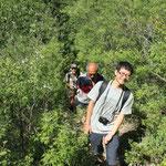 Shang und unser Bergführer