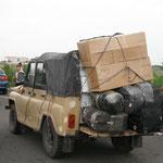 Mongolen kommen nach China einkaufen...