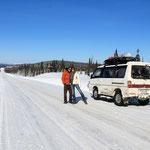 Auf dem Trans Labrador Highway