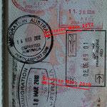 Einreise und Ausreisedatum beachten!!! 728 Tage in Australien!!!!