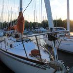 ...das Segelbot von Yagna und Stick