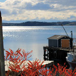 Ruhige Fischerdörfer entlang der Küste
