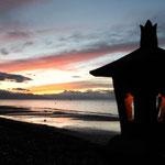 Sonnenuntergang in Lovina...