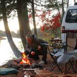 Wildcampen in New Brunswick