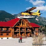 Northern Rockie Lodge...hübsch aber schnöselig