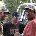 3 lustige 2... v.r.n.l. Carry aka Pilot, Tobi aka Farmer und Ich aka Nico ;-)
