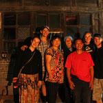 Unsere Gastfamilie in Ghandbi