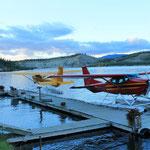Parkplatz im Yukon